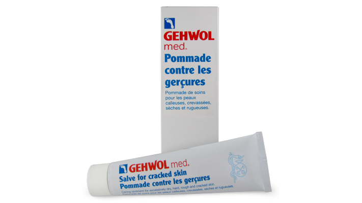 Pommade contre Gercures