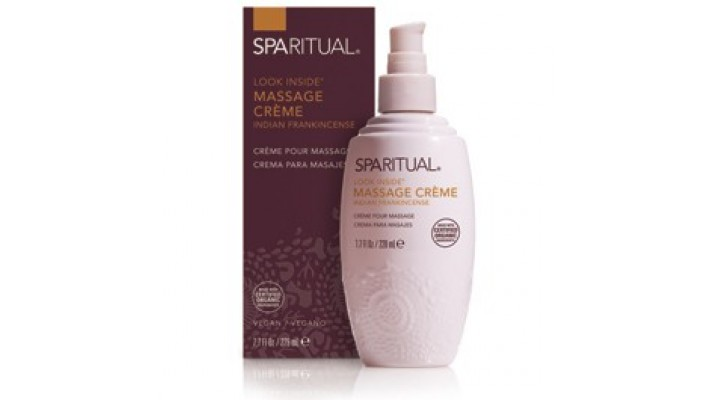 Crème pour Massage Look Inside - Encens Indien